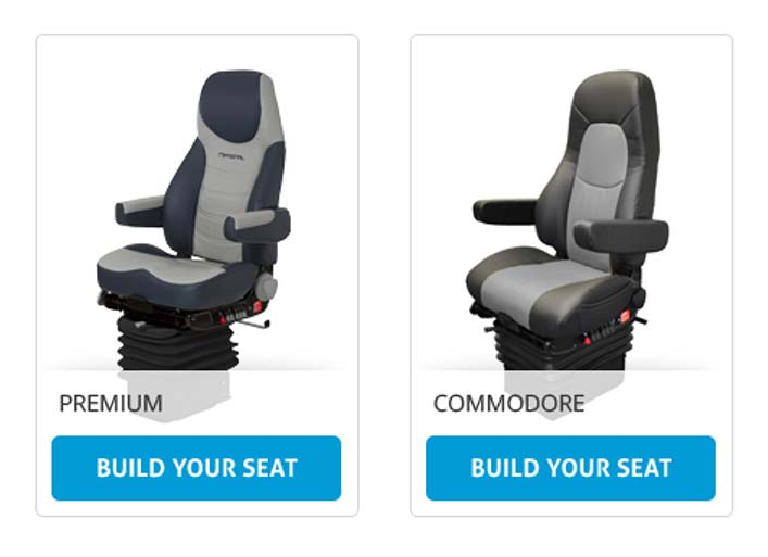 National Seating Website - Product Selector